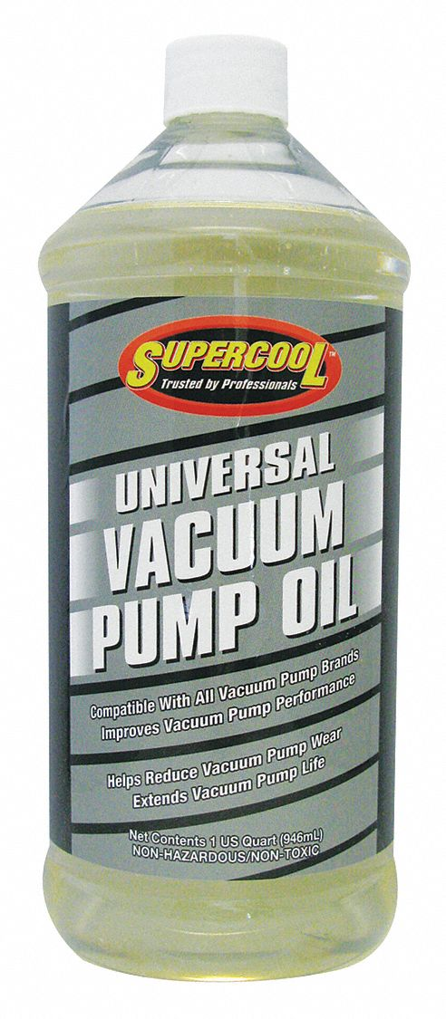 Vacuum Pump Oil, 1 qt Container Size