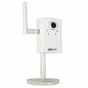 "IP Camera,Indoor,1-19/64"" L,Fixed Lens"
