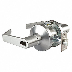 Lever Lockset,Mechanical,Lockset Grade 1