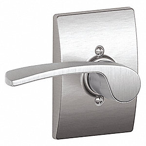 Door Lever Lockset, F Merano/Century, Mechanical, Not Keyed Key Type, Cylindrical