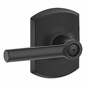 Lever Lockset,Mechanical,Privacy,Grd. 2