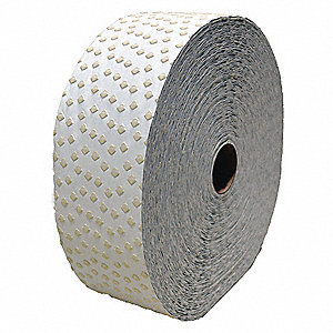 "Pavement Marking Tape,  Reflective White,  360 ft. Length,  4"" Width,  1/16"" Height"