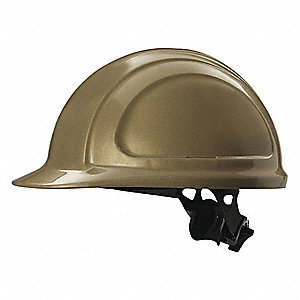 Hard Hat,4 pt. Ratchet,Gold