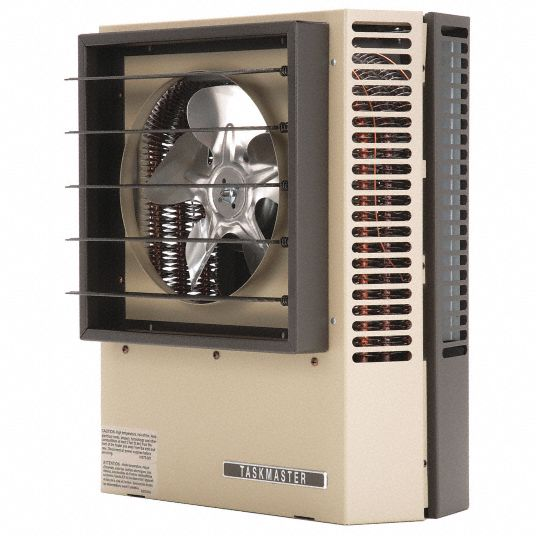 Markel Products Electric Wall Ceiling Unit Heater 3 3kw 208v Ac 1 Or 3 Phase Air Temp Rise 26 F 49zz89 F2f5103n Grainger