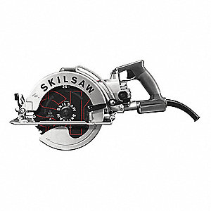 "8-1/4"" Worm Drive Circular Saw, 4300 No Load RPM, 13.0 Amps, Blade Side: Left"