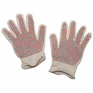 Hot Mill Gloves, Cotton/Acrylic, 400°F Max. Temp., Men's XL, PR 1