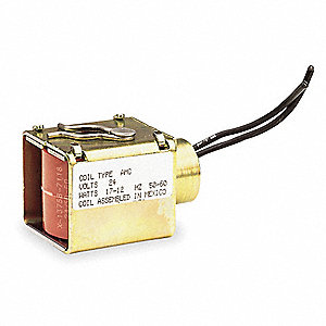 Solenoid Valve Coil, Coil Insulation Class F, 120VAC Voltage, 12 Watts