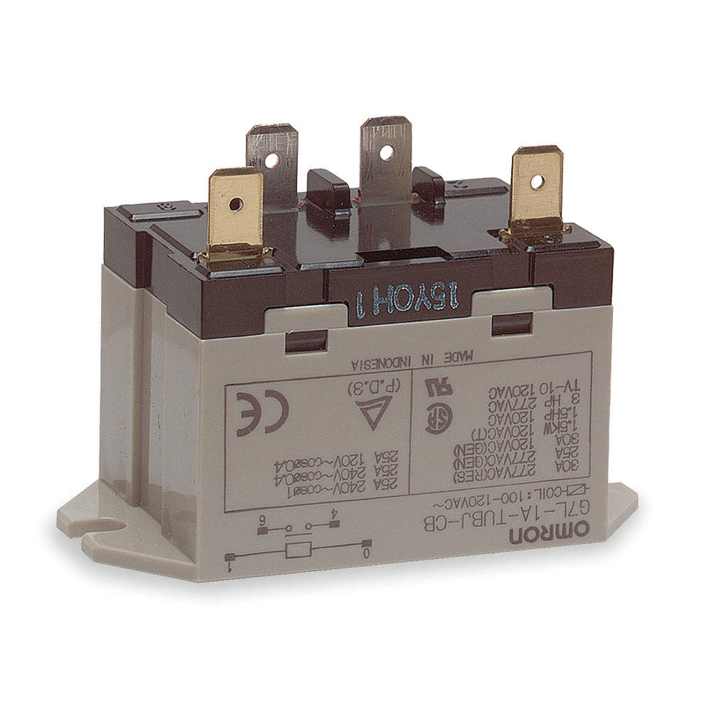 Omron 100 120vac 4 Pin Bottom Flange Enclosed Power Relay Made In Indonesia Zoom Out Reset Put Photo At Full Then Double Click