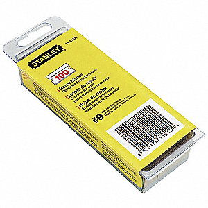Stanley 1 1 2 Quot Carbon Steel 9 Single Edge Razor Blade