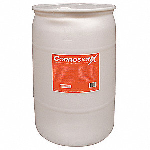 Corrosion Inhibitor, Wet Lubricant Film, 200°F Max. Operating Temp., 30 gal. Drum