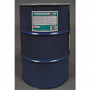 Corrosion Inhibitor, Wet Lubricant Film, 200°F Max. Operating Temp., 55 gal. Drum