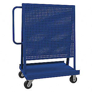 Steel A Frame Pegboard Truck Kit 1000 Lb Load Capacity Textured Powder