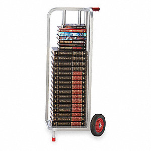 V-Shaped Hand Truck, Single Grip, 240 lb. Overall Height 44""