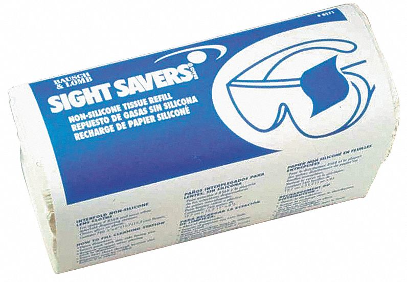 Lens Cleaning Tissue, Tissue Size: 4-3/4 in x 6-1/2 in, Tissue Count: 760