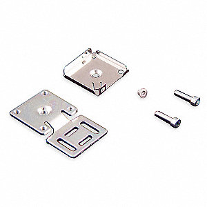 Size E Flat Rectangular Mounting Bracket, For Use With 13mm x 26mm x 26mm Flat Proximity Sensor