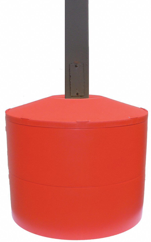Red Bases For Living Room Decor: Light Poles