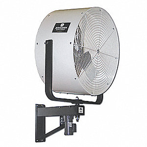 "36"" Industrial Wall-Mounted Oscillating Misting Air Circulator"