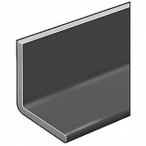 Angle,ISOFR,Gray,1/8 Th,1 x1 In Leg,5 Ft