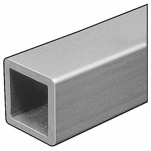 Dynaform material tubular gris oscuro cuadrado barra de - Barras de fibra de vidrio ...