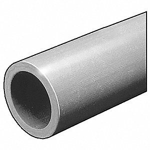 Fiberglass Tube Stock, Isopthalic Polyester Fire Retardant Resin (ISOFR) Fiberglass, 5 ft. Length