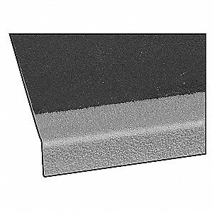 Stair Tread Cover,Gray,48in W,Polyester
