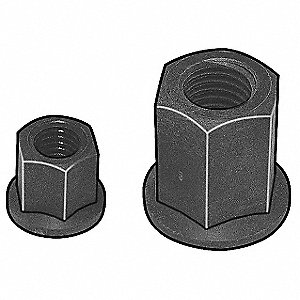 "Isoplast® Hex Nut with 3/4""-10 Dia./Thread Size&#x3b; PK1"