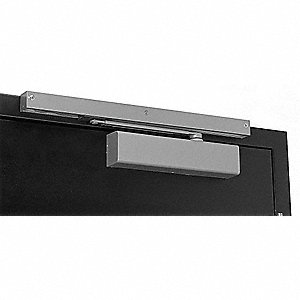Manual Hydraulic Norton 8500-Series Door Closer, Heavy Duty Interior and Exterior, Aluminum
