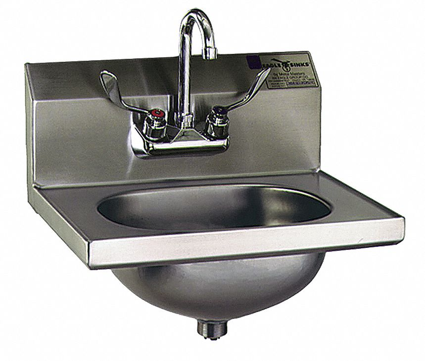 Eagle,  HSA Series Series,  General Purpose,  1,  Stainless Steel,  Hand Sink