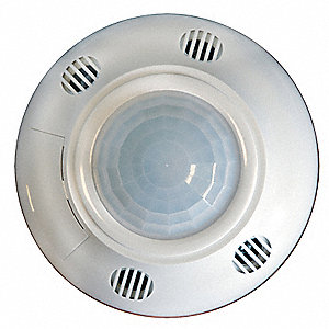 Occupancy Sensor, Sensor Type: Passive Infrared/Ultrasonic, Installation Type: Ceiling, 700/2000 sq.