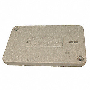 PG Underground Enclosure Cover, Blank, For Use With 20-1/4 x 13-3/8 Enclosure