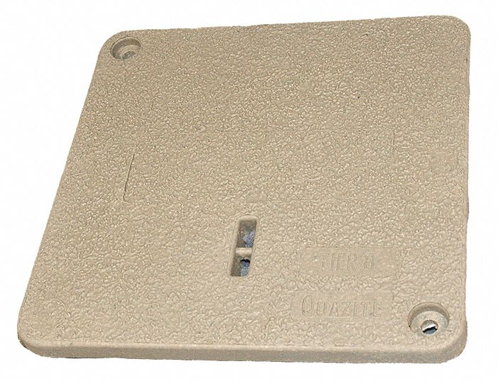PC Underground Enclosure Cover, Blank, For Use With 14-3/4 x 14-3/4 Enclosure