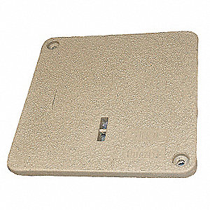 "Underground Enclosure Cover,12-13/16"" L"