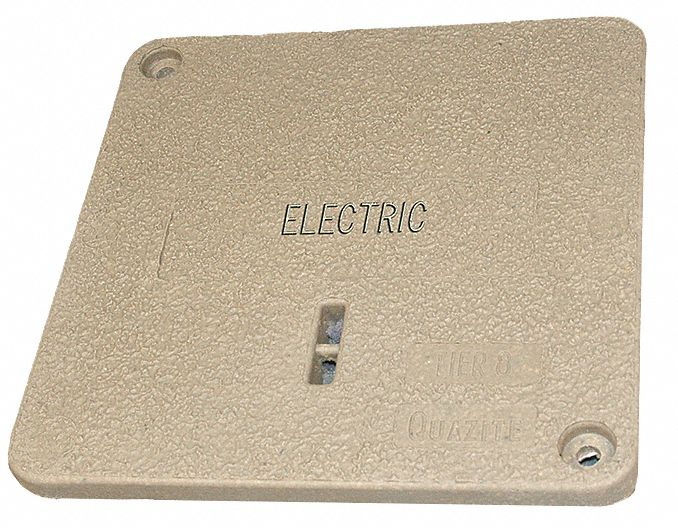 PC Underground Enclosure Cover, Electric, For Use With 14-3/4 x 14-3/4 Enclosure