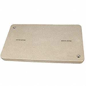 PG Underground Enclosure Cover, Blank, For Use With 19-1/4 x 32-1/4 Enclosure