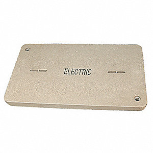PG Underground Enclosure Cover, Electric, For Use With 19-1/4 x 32-1/4 Enclosure