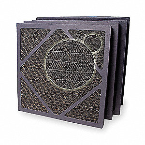 15-3/4x15-3/4x3/4 HEPA Carbon Filter For Use With Mfr. No. F284, Frame Included: Yes