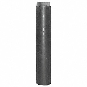 "Polypropylene Black Standing Waste Assembly, 1-1/2"" Pipe Dia., IPS Connection - Drains"