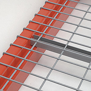 "58"" x 42"" Wire Mesh Decking with 3200 lb. Load Capacity, Gray"