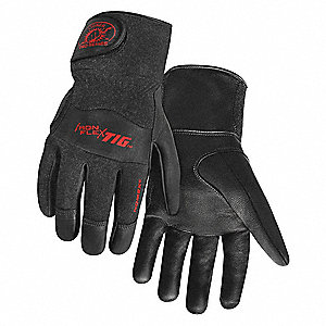 Welding Gloves,TIG,XL,9 In. L,PR