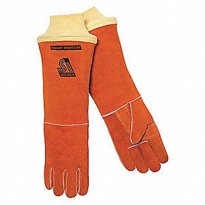 "Welding Gloves,Stick,18"",L,PR"