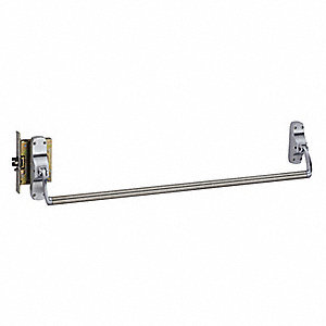 Exit Device, Series 88, Satin Chrome, Cross Bar