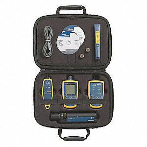 ST, SC, LC Complete Fiber Verification Kit, Measures 850, 1300, 1310, 1490, 1550, and 1625 nM Wavele