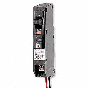 Plug In Circuit Breaker, QO, Number of Poles 3, 30 Amps, 240VAC, PowerLink