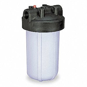 FILTER HOUSING,1 IN NPT,1 CARTRIDGE