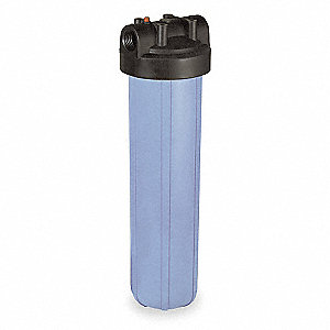 "Filter Housing, Polypropylene, 1"" NPT"