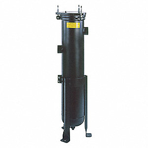 Bag Filter Housing,Carbon Steel,2 In