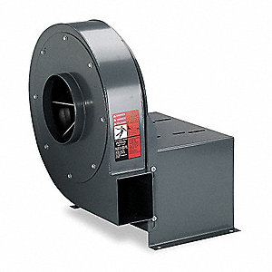 "High Pressure Blower Less Motor, 9"" Wheel Dia., 17""H"