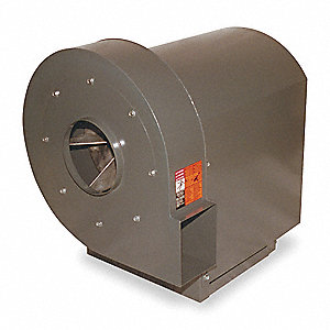 High Pressure Blower, 2 Motor HP, Capacitor-Start, Capacitor-Run, 13-1/2 Wheel Dia. (In.)
