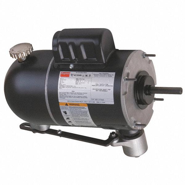Dayton 1 4 hp pedestal fan motor permanent split for Best lubricant for electric fan motor