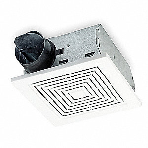 Bathroom Fan,50 CFM,0.9A